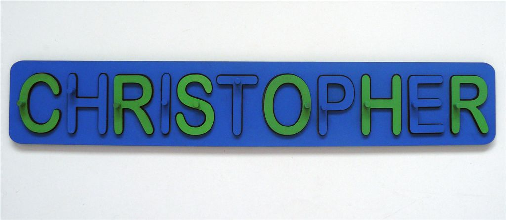 CHRISTOPHER name puzzle