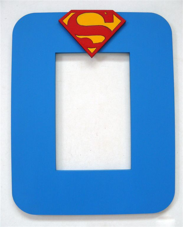 Blue with Superman logo