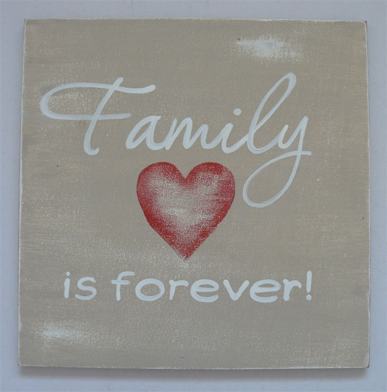 Family is forever board
