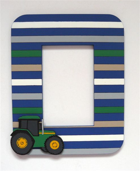 Stripes with John Deere