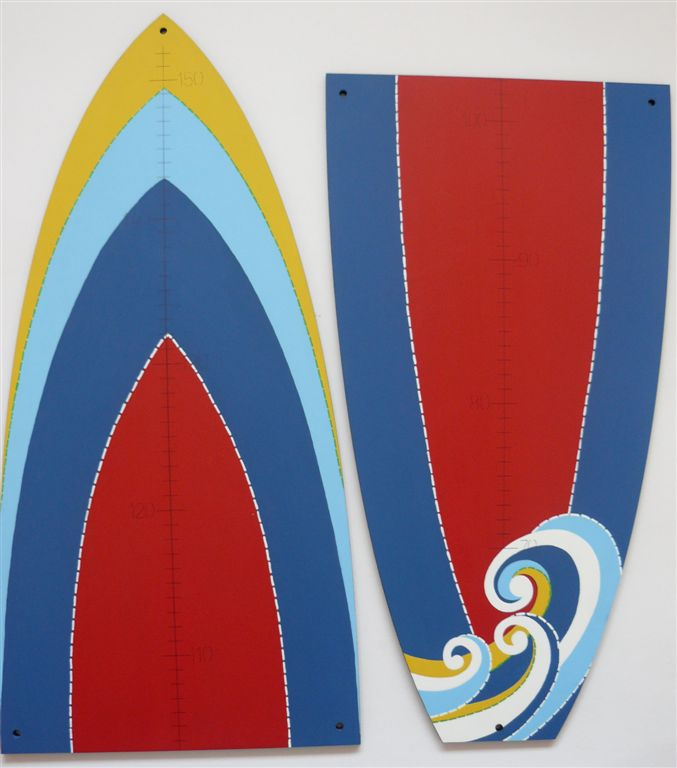 Surfboard Growth chart brights