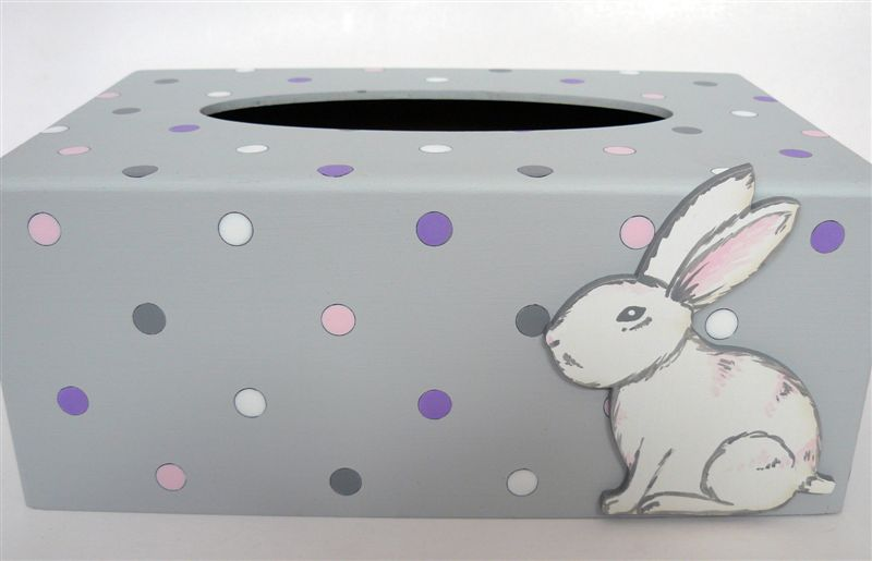 Grey base with bunny detail