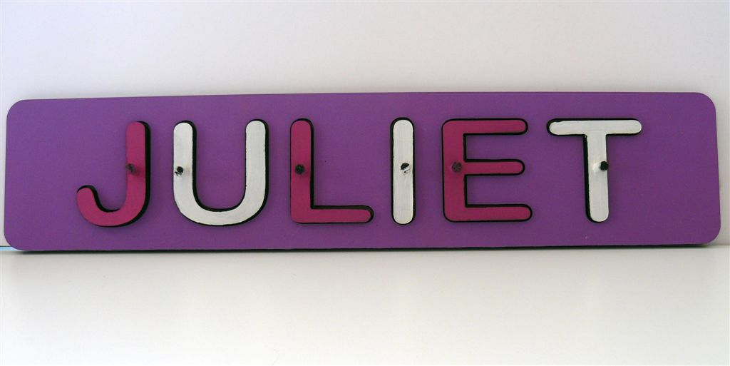 JULIET name puzzle