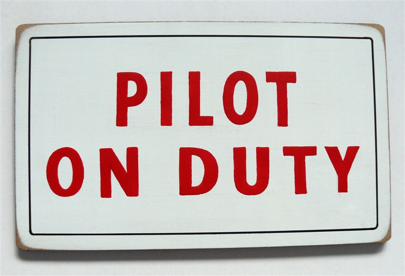 Pilot on duty board