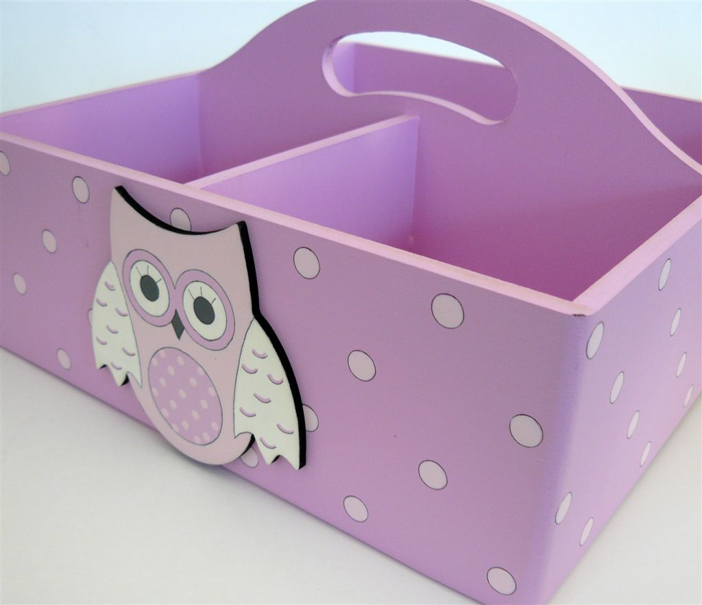 Pink with owls and polkas