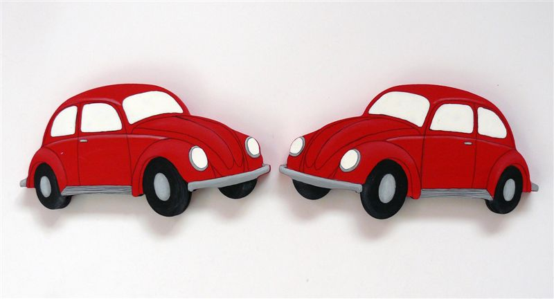 Bookends VW Beetle