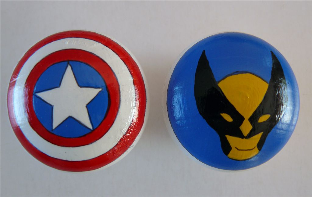 Doorknobs Superheroes