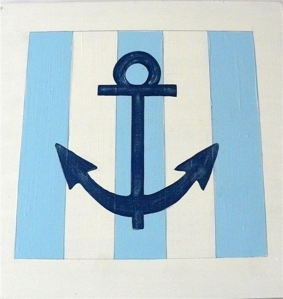 Anchor on Stripes