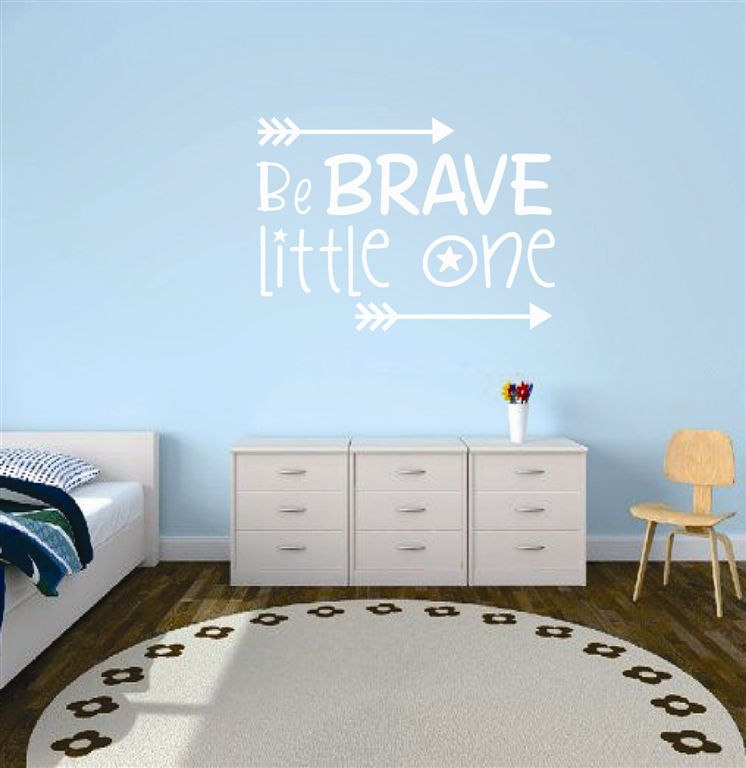 Be brave little one!