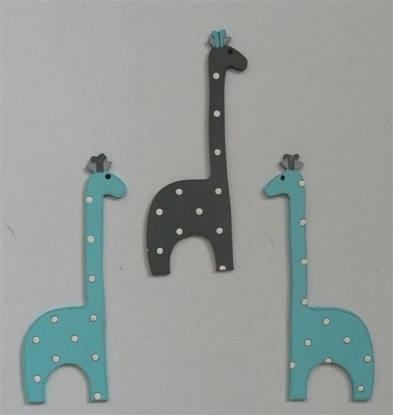 Giraffe cutouts priced per single