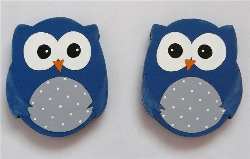 Tiebacks blue owls