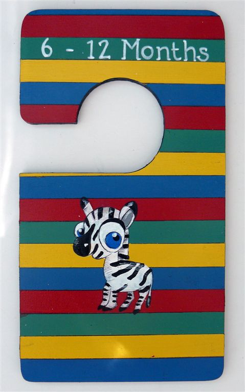 Closet Divider stripes with zebra