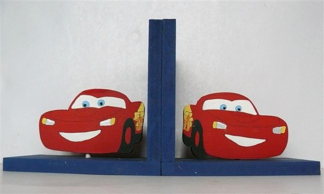 Bookends Cars theme