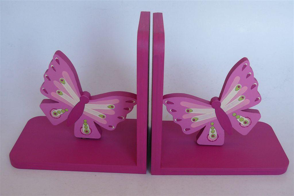 Bookends butterflies