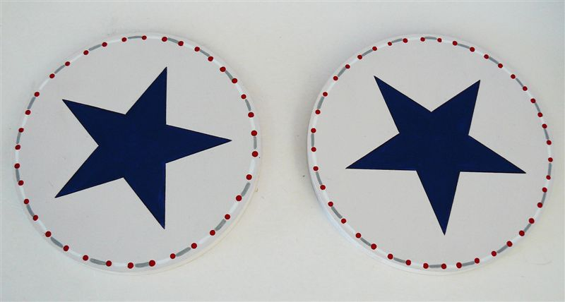Circle and star tieback - Click Image to Close