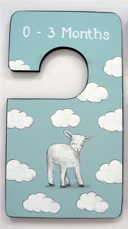 Closet Divider with baby sheep