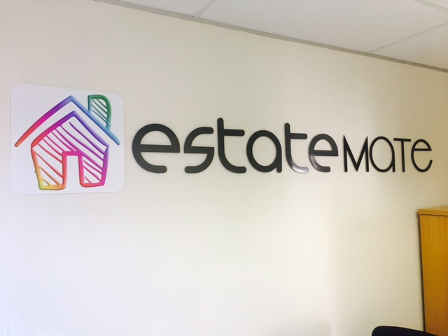 Estate Mate signage