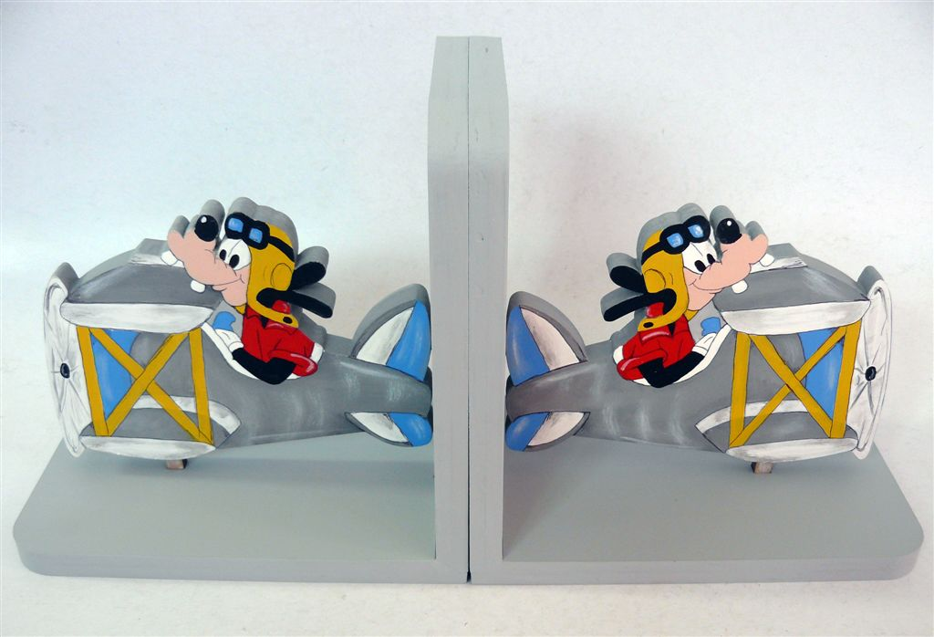 Goofy Bookends
