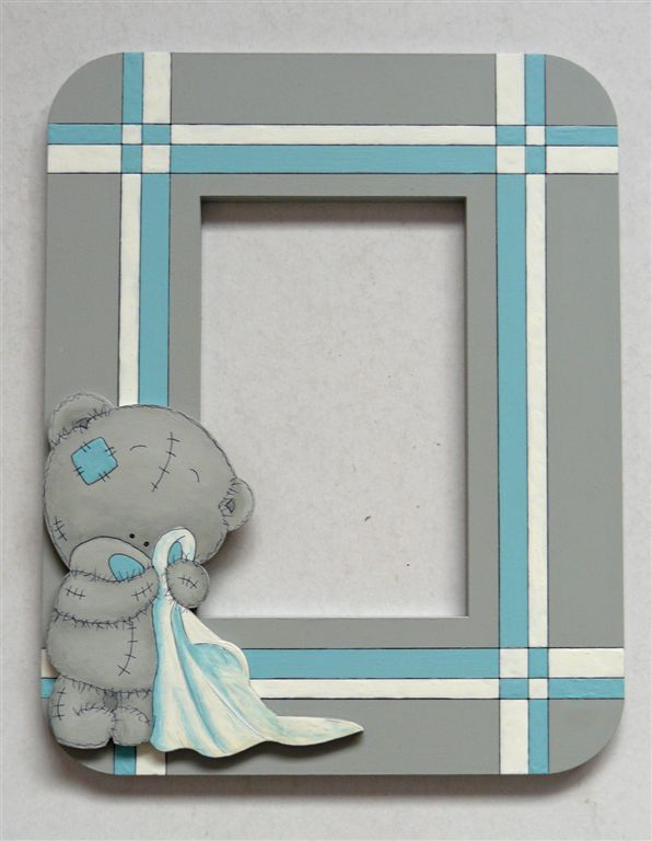 Blue grey stripe with tatty