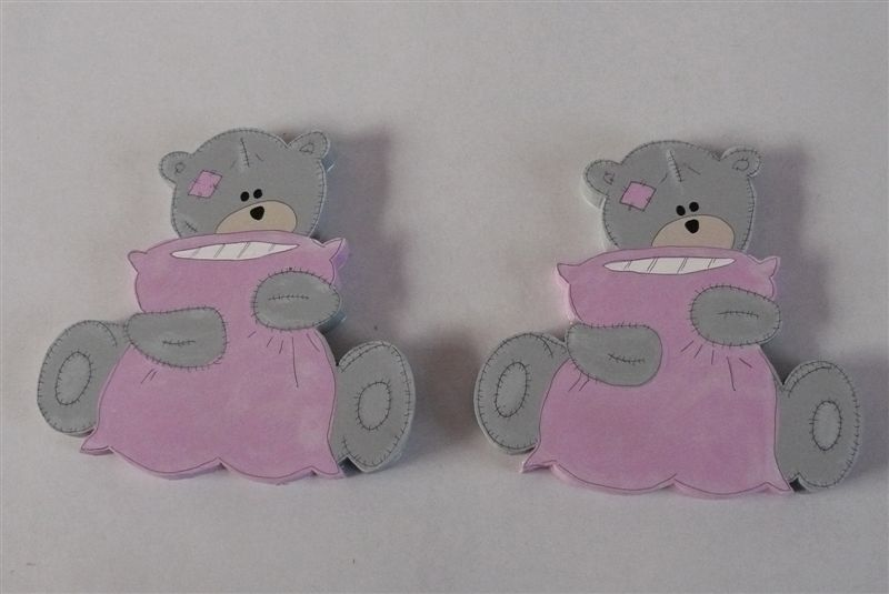 Tiebacks grey tattie with pink cushion