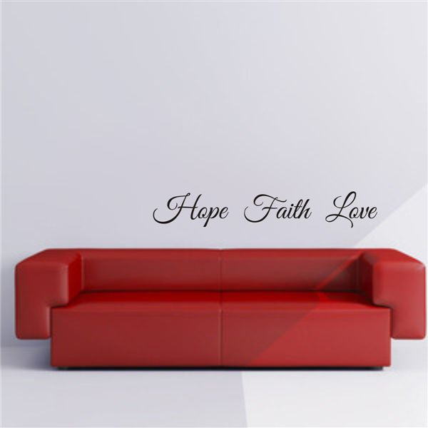 Hope, Faith, Love