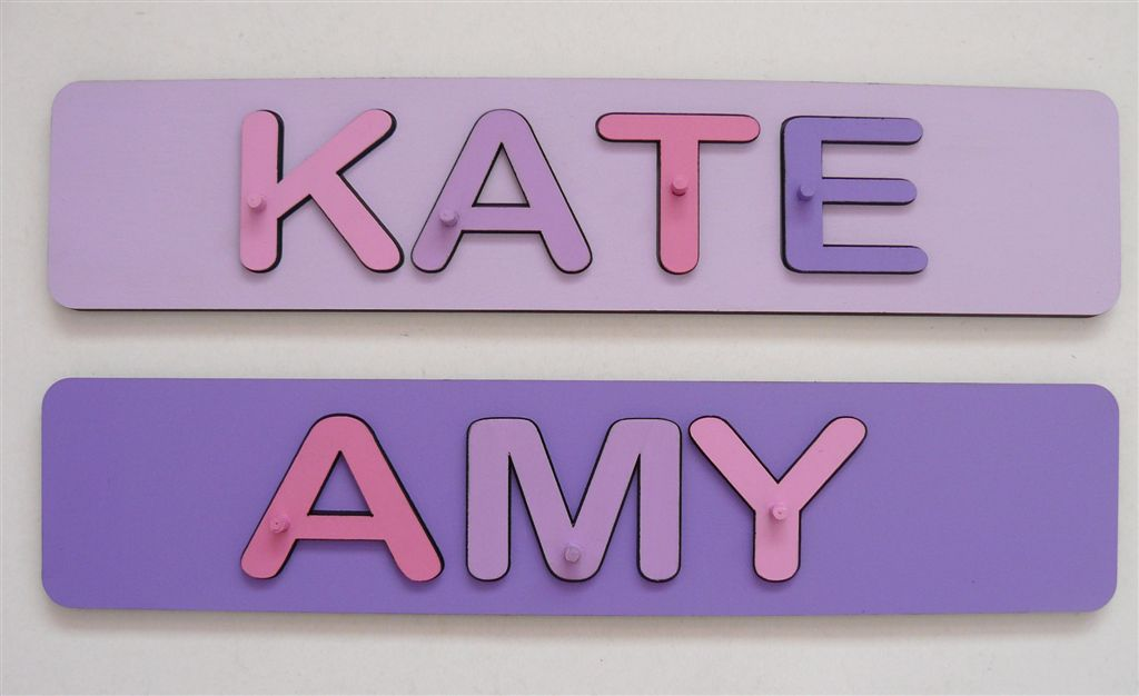 KATE and AMY name puzzle