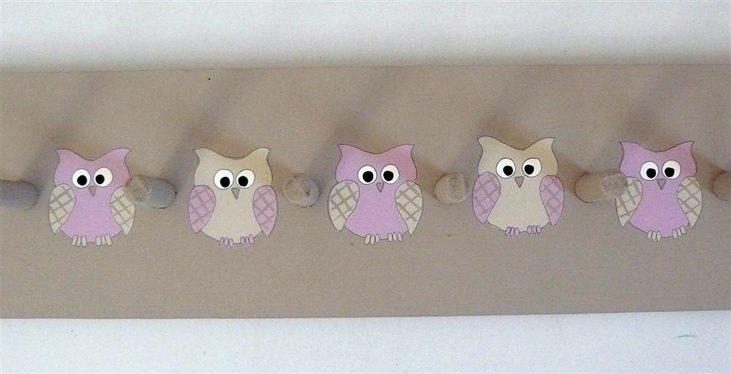 Stone Owl Coatrack