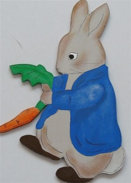 Peter the Rabbit cutout