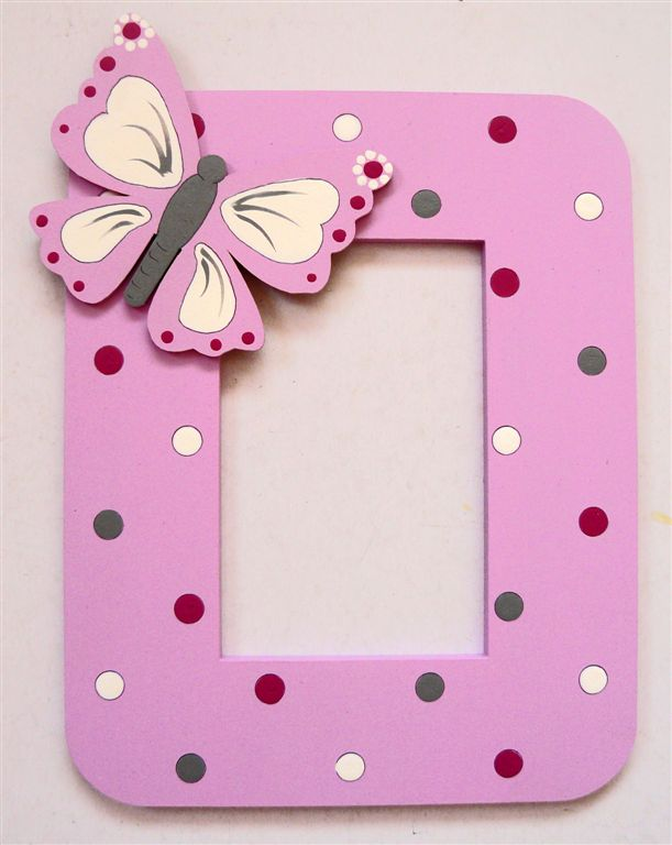 Pink with polkas and butterfly