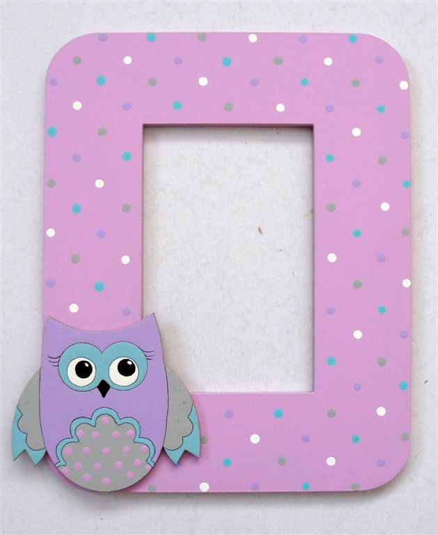 Pink and purple with owl