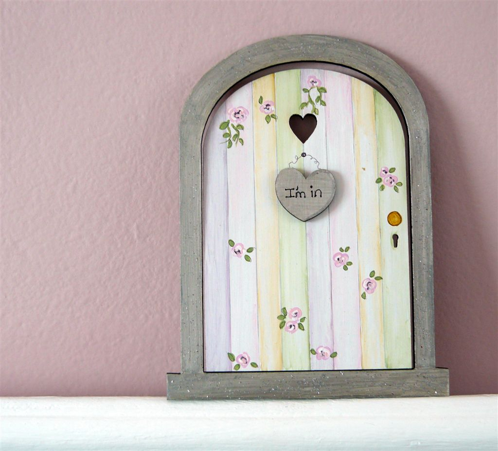 Roses magic door 18x14cm