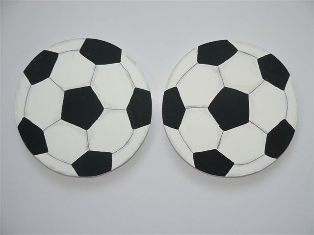 Soccer ball tiebacks