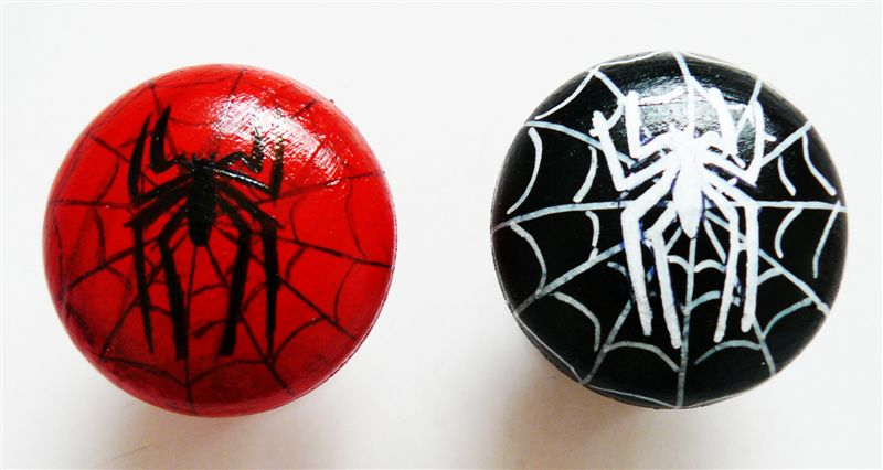 Spiderman spiderweb black and red