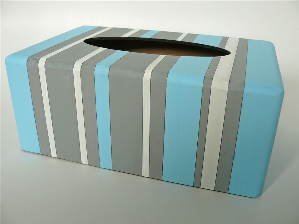 Light blue and grey stripes