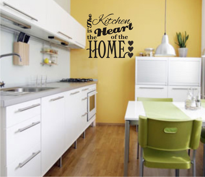 The kitchen is the heart of our home