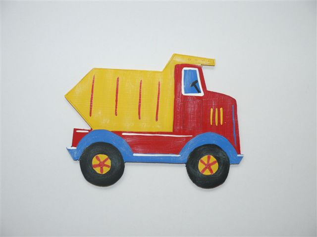 Tipper truck cutout