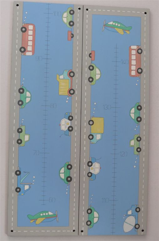 Growth chart transport pastels