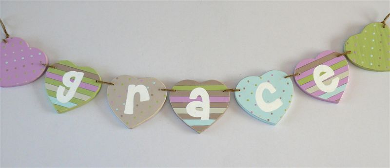 Grace Name Bunting