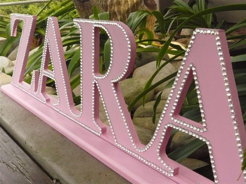 The Letterlady!, Handpainted Wooden Letters